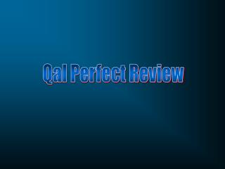 Qal Perfect Review