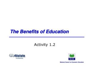 The Benefits of Education