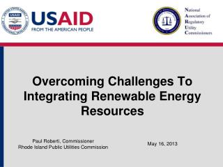 Overcoming Challenges To Integrating Renewable Energy Resources