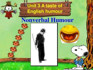 Nonverbal Humour