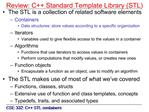 Review: C Standard Template Library STL