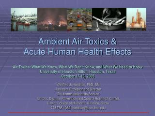 Ambient Air Toxics &  Acute Human Health Effects