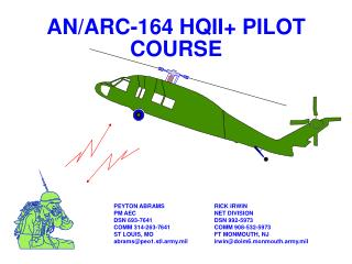 AN/ARC-164 HQII+ PILOT COURSE
