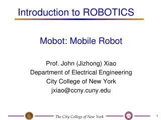 Mobot: Mobile Robot