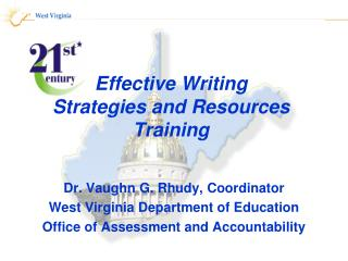 Effective Writing Strategies and Resources Training