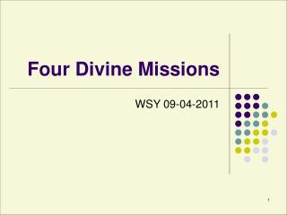 Four Divine Missions