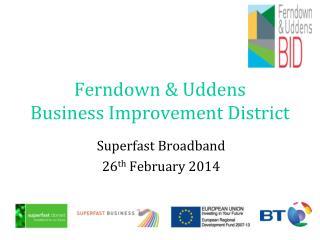 Ferndown & Uddens Business Improvement District