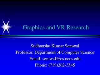Graphics and VR Research