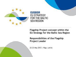 22-23 May 2012 | Riga, Latvia