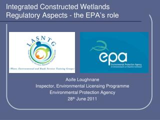 Integrated Constructed Wetlands Regulatory Aspects - the EPA's role