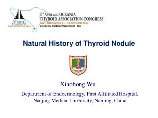 Natural History of Thyroid Nodule