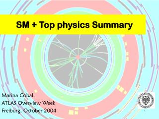 SM + Top physics Summary