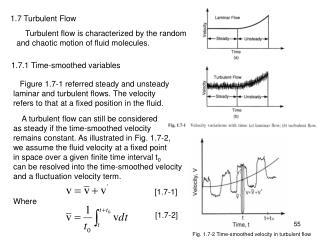 1.7 Turbulent Flow