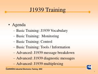 J1939 Training