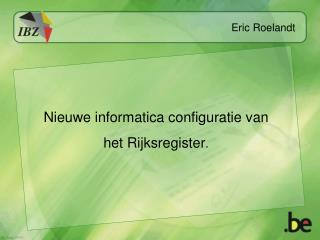 Eric Roelandt