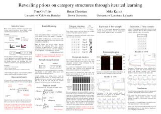 Revealing priors on category structures through iterated learning