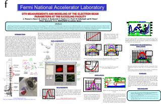 OTR MEASUREMENTS AND MODELING OF THE ELECTRON BEAM PARAMETERS AT THE E-COOLING FACILITY