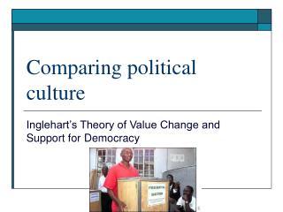 Comparing political culture