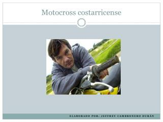 Motocross  costarricense
