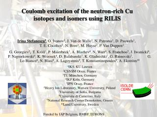Coulomb excitation of the neutron-rich Cu isotopes and isomers using RILIS