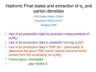 Use of jet production data for precision measurements of  α s (M Z )