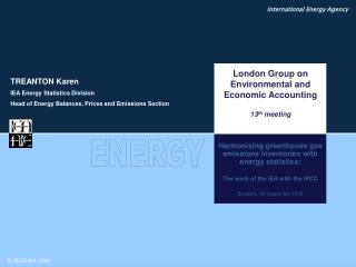 Harmonising greenhouse gas emissions inventories with  energy statistics: