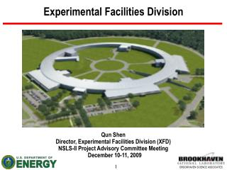 Experimental Facilities Division