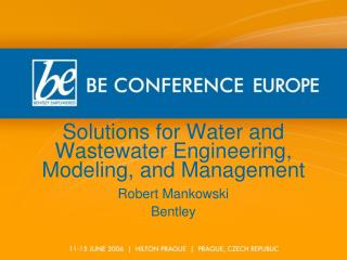 Solutions for Water and Wastewater Engineering, Modeling, and Management