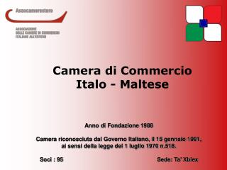 Camera di Commercio Italo - Maltese