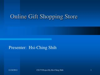 Online Gift Shopping Store