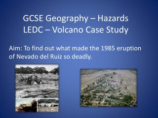 GCSE Geography   Hazards LEDC   Volcano Case Study