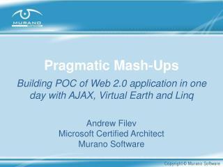 Pragmatic Mash-Ups