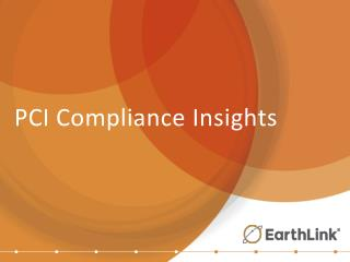 PCI Compliance Insights