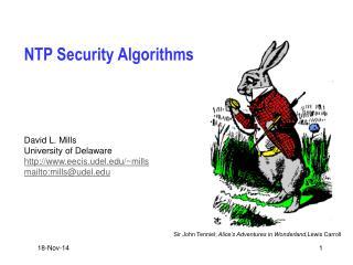 NTP Security Algorithms