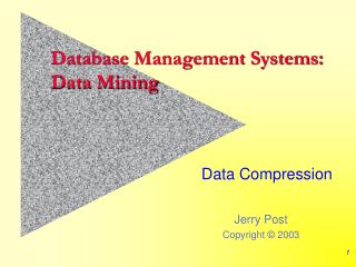 Database Management Systems: Data Mining