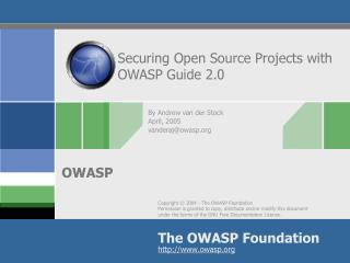 Securing Open Source Projects with OWASP Guide 2.0
