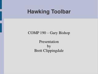 Hawking Toolbar