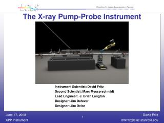 The X-ray Pump-Probe Instrument
