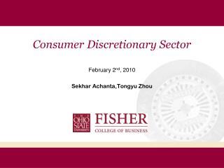 Consumer Discretionary Sector