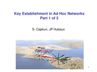 Key Establishment in Ad Hoc Networks Part 1 of 2