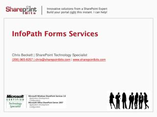 InfoPath Forms Services