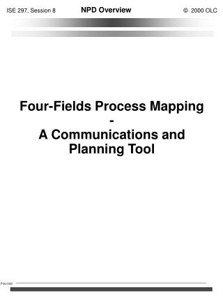 Four-Fields Process Mapping - A Communications and Planning Tool