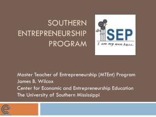Southern Entrepreneurship Program