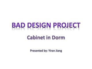 Cabinet  in  Dorm