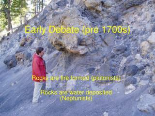 Early Debate (pre 1700s)