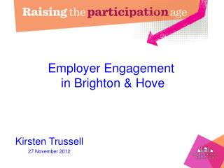 Employer Engagement  in Brighton & Hove