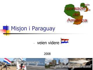 Misjon i Paraguay