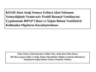 Tülay Yarkın, Zuhal Karakurt, Dildar Yetiş, Aydın Kant, Reha Baran