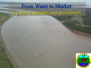 From Water to Market: a guide to permits and procedures