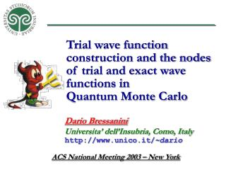 Trial wave function construction and the nodes of trial and exact wave functions in
